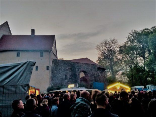 Burgnächte auf der Wasserburg in Dessau-Roßlau
